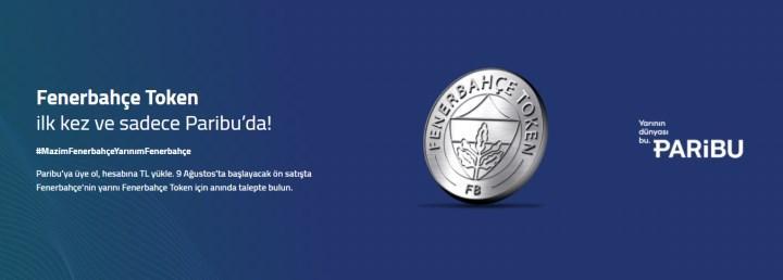 Fenerbahçe, FB Token için Paribu ile anlaştı