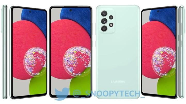 Samsung Galaxy A52s'in görüntüleri sızdırıldı