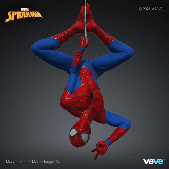 Marvel'ın Örümcek Adam'ı NFT Oluyor