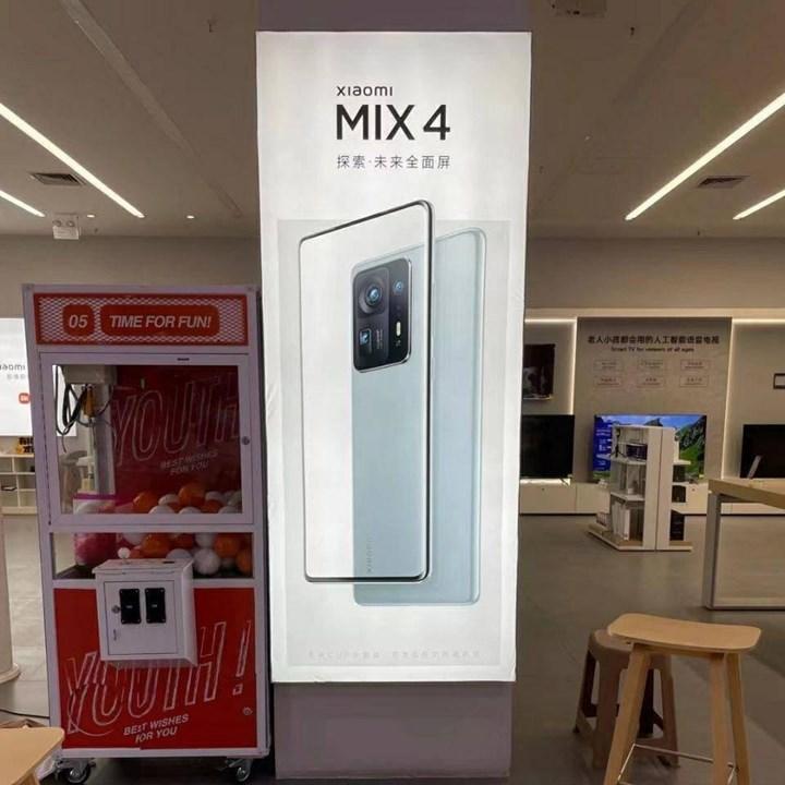 Xiaomi Mi Mix 4'ün tasarımı netleşti