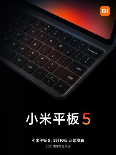 Xiaomi Mi Pad 5, klavye desteğiyle gelecek