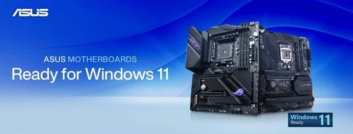 Asus, Windows 11'e hazır