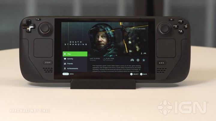 Steam Deck, Ekran Paylaşımı İle 8 Saat Oyun Oynatabilecek