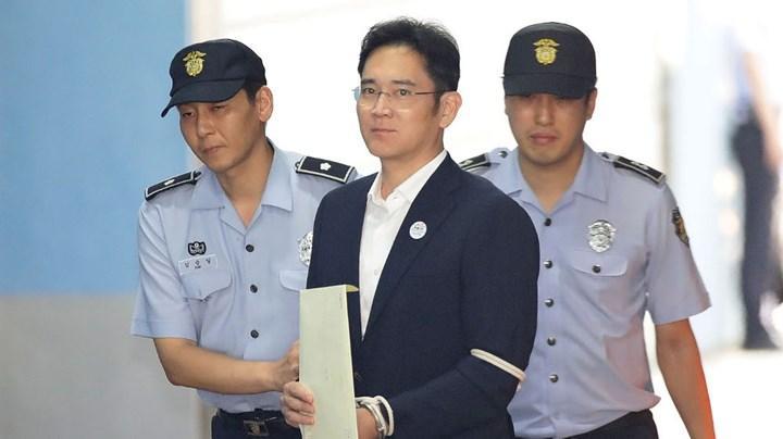 Rüşvetten mahkum edilen Samsung başkanı erken tahliye edilecek