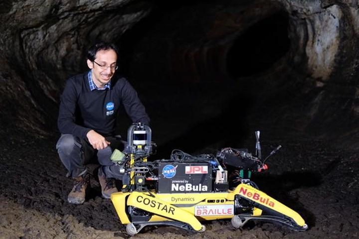 NASA, Mars'taki mağaraların keşfi için robotlar geliştiriyor
