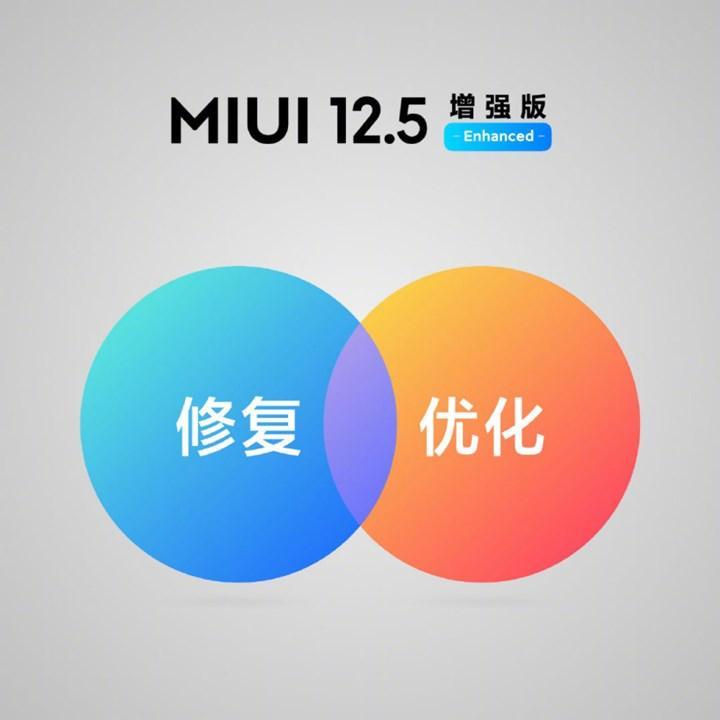 MIUI 12.5 Enhanced arayüzü tanıtıldı