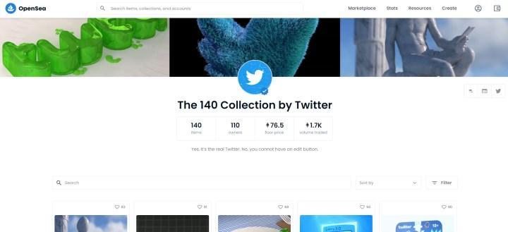 Twitter'ın satışa sunduğu NFT'ler büyük ilgi görüyor