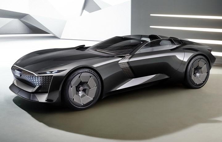 Audi skysphere ön tasarım