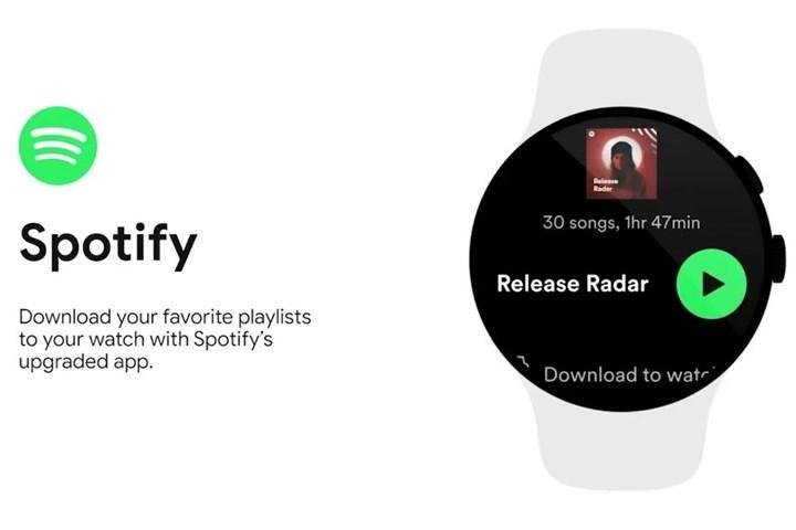 Spotify Wear OS artık bağımsız