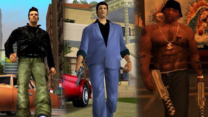 GTA 3, Vice City ve San Andreas'ın remaster versiyonu geliyor