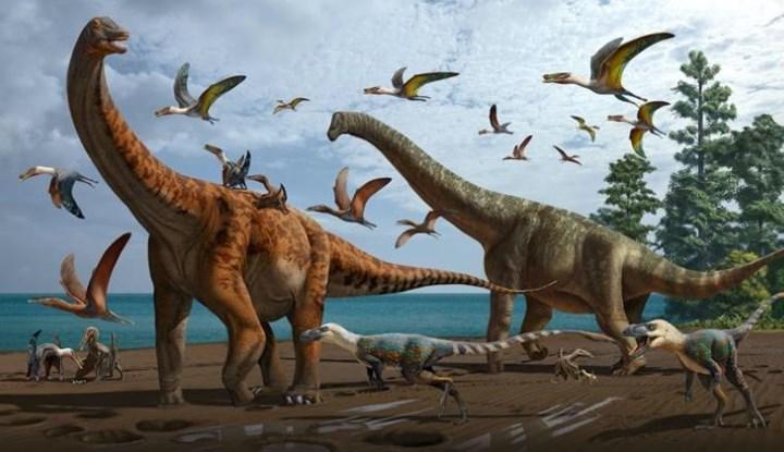 Mavi balinalar kadar büyük dinozor fosilleri keşfedildi