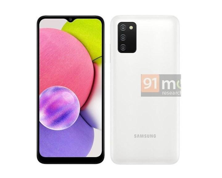 Samsung Galaxy A03s'in yeni görüntüleri yayınlandı