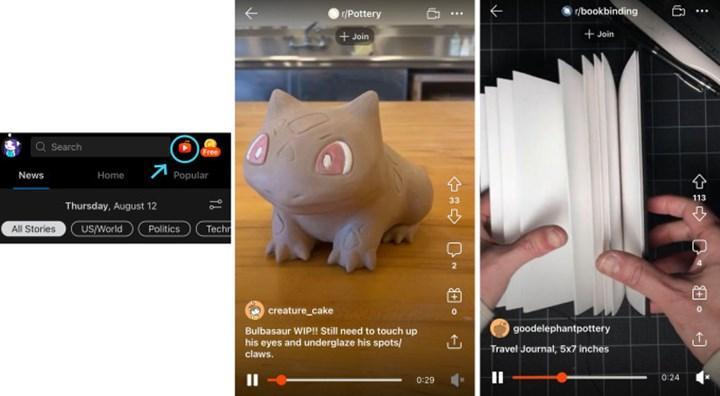 Reddit, TikTok benzeri kısa videolar sunmaya başladı