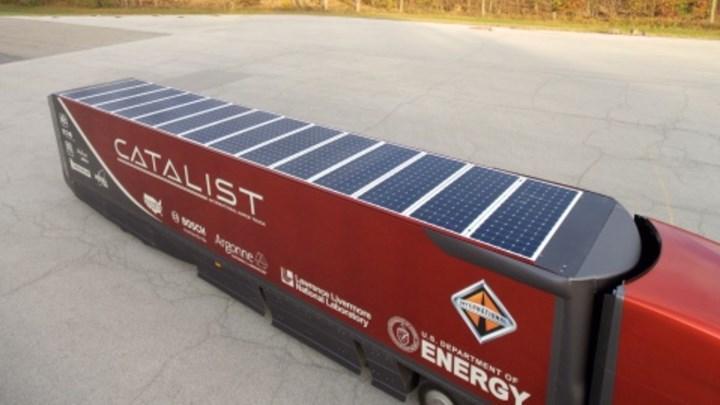 Solar enerji gıda taşıma kamyonları geliyor, işte detaylar