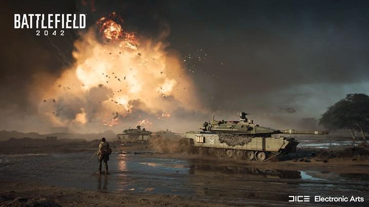 Battlefield 2042'nin test sürümü PS5'te iptal edildi