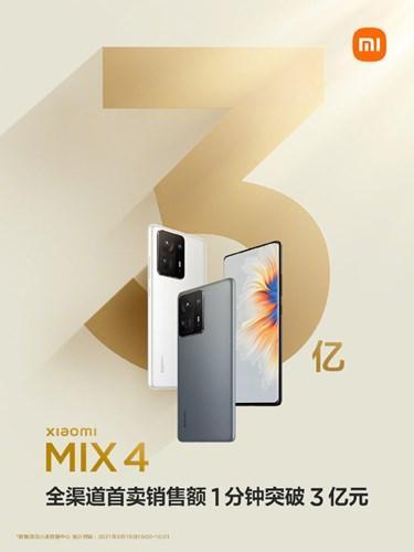 Mi Mix 4, Xiaomi'ye bir dakikada 46 milyon dolar kazandırdı