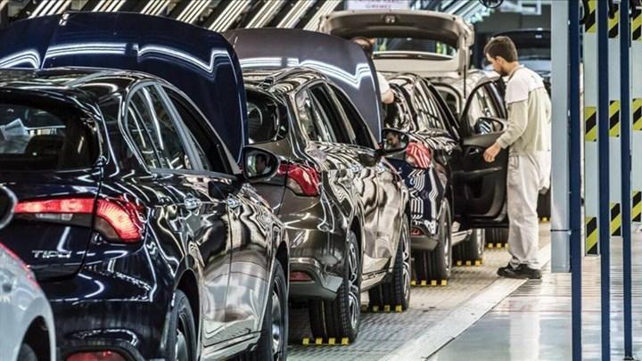 Temmuz ayında Türkiye'de otomotiv üretimi ve ihracatı da düştü