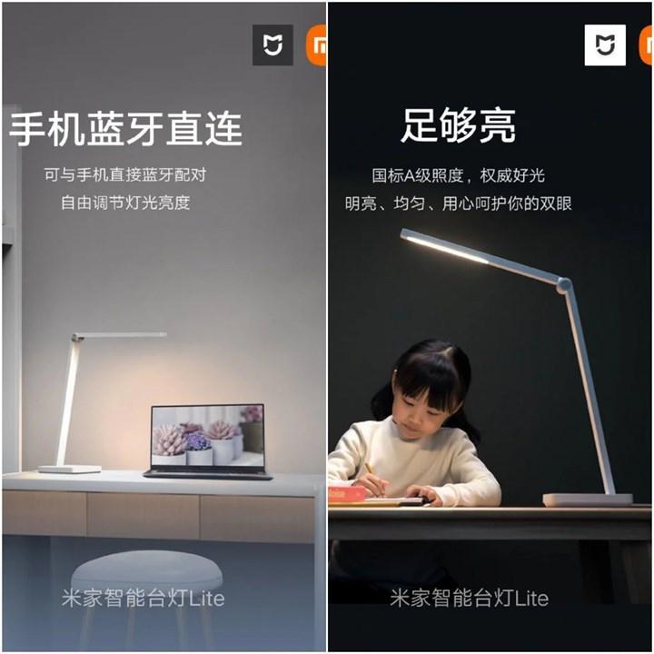 Xiaomi MIJIA Smart Desk Lamp Lite satışta