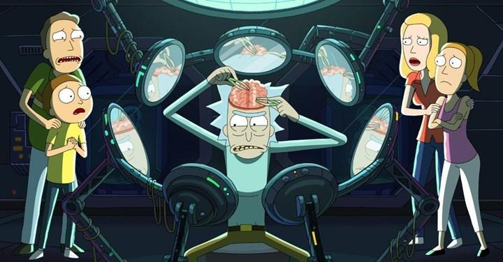 Rick and Morty 5. sezon finali 1 saatlik bölüm ile 5 Eylül'de