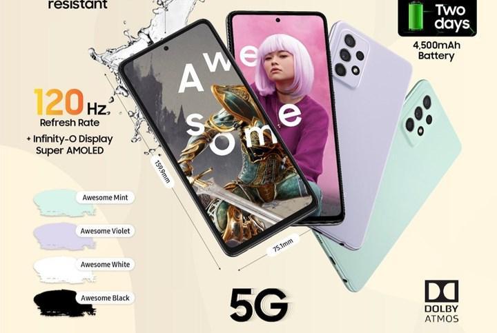 Galaxy A52s 5G tanıtıldı