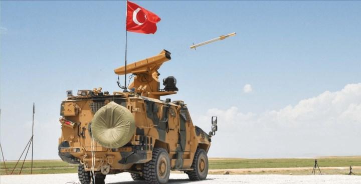 Roketsan, SUNGUR mobil hava savunma füze sistemini sergiledi