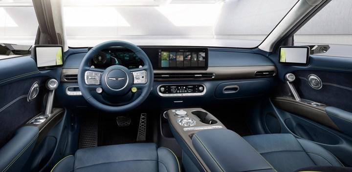 Genesis, elektrikli crossover modeli GV60'ın görsellerini paylaşt