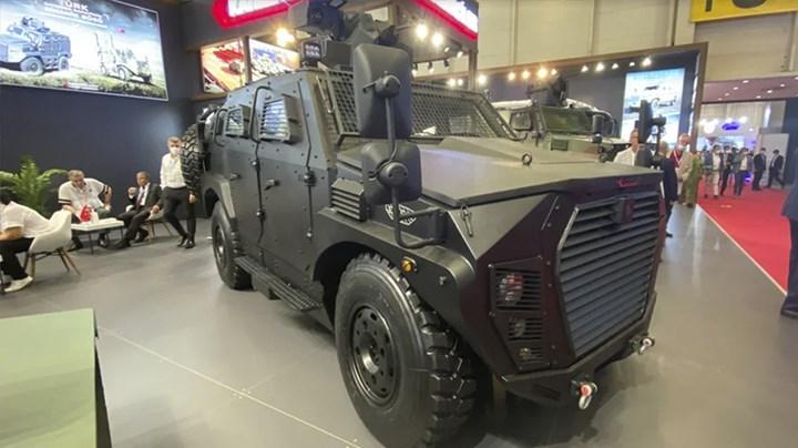 Katmerciler, IDEF 21'de Eren 4x4 zırhlı aracını tanıttı