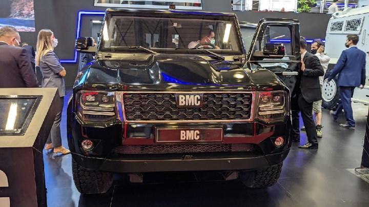 BMC, zırhlı SUV modeli Tulga'yı IDEF 21'de tanıttı