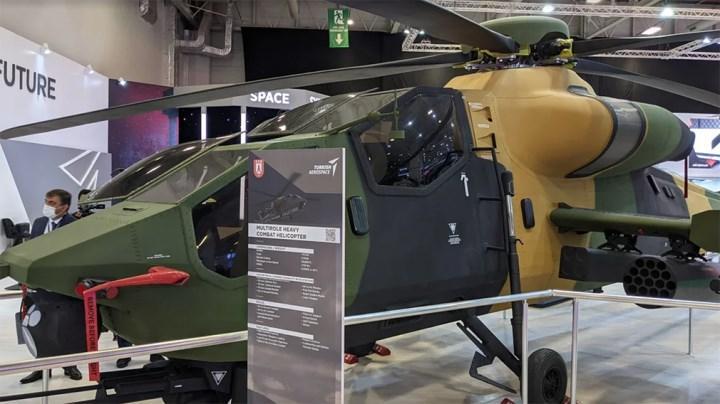 Çok amaçlı savaş helikopteri Atak-II, IDEF 21'de görücüye çıktı