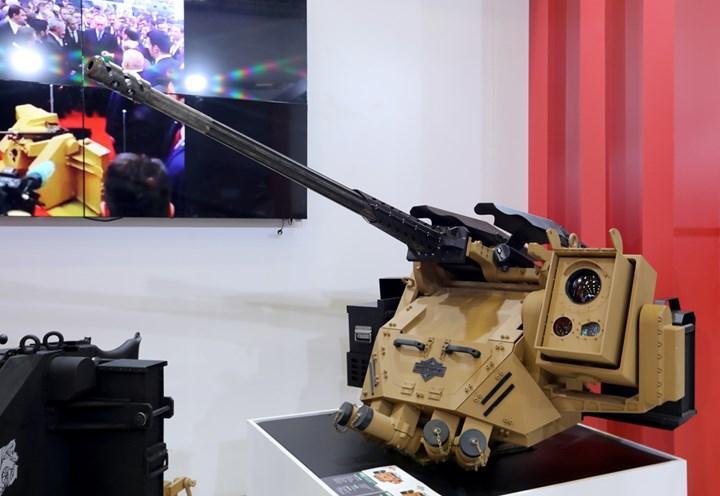 Yapay zeka destekli Koralp silah sistemi IDEF 2021'de sergilendi