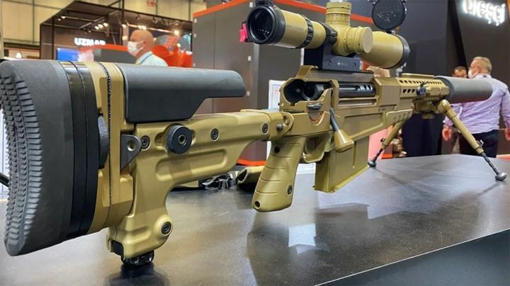 En yeni keskin nişancı tüfeklerinden KSR127B, IDEF'te tanıtıldı