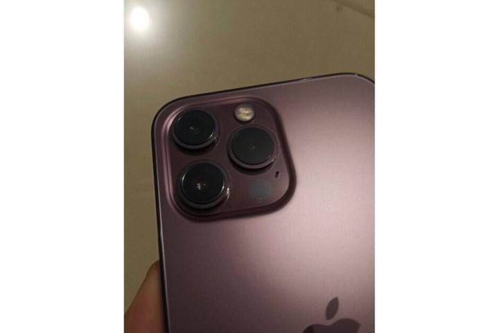 Pembe altın renkli iPhone 13 Pro'nun fotoğrafları yayınlandı