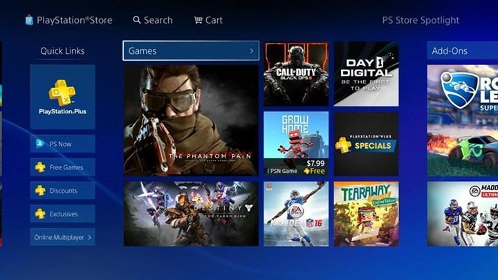 Sony yeni patenti PS Store'daki oyun sayfalarıan odaklanıyor