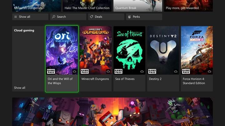 Xbox Cloud Gaming konsollara geliyor