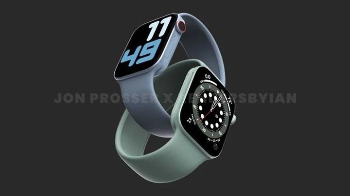 Apple Watch Series 7, yeni 41 mm ve 45 mm kasalarla gelecek