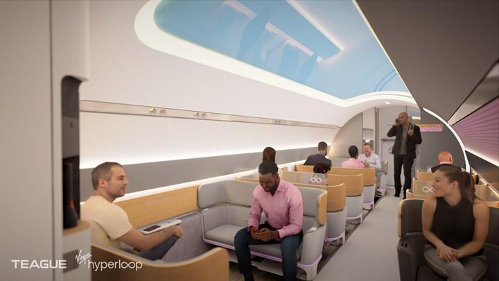 Virgin Hyperloop'tan 1.000 km/s hıza ulaşacak yeni kapsül