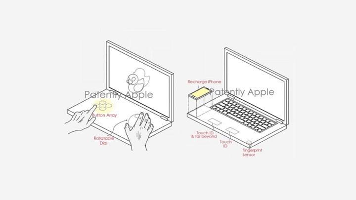 Apple, kablosuz şarj ve çift ekrana sahip MacBook patenti aldı