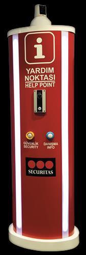 AVM'lerde Acil Durum ve Danışma Kiosk'u ile güvenlik ihtiyaçların