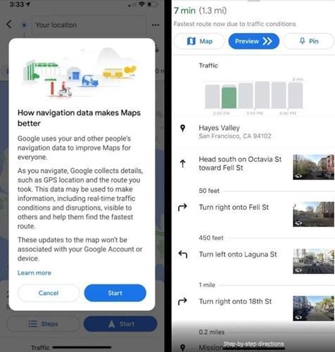 Google Haritalar'dan, veri paylaşımı yapmayanlara yaptırım