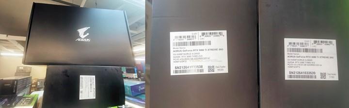 RTX 3080Ti 20 GB modeli görüntülendi
