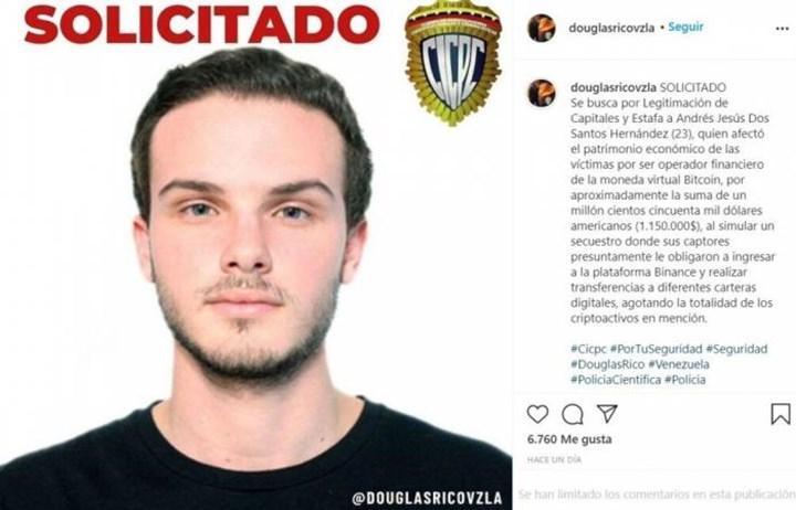 Venezuelalı adam BTC çalmak için kendi kaçırılmasını düzenledi
