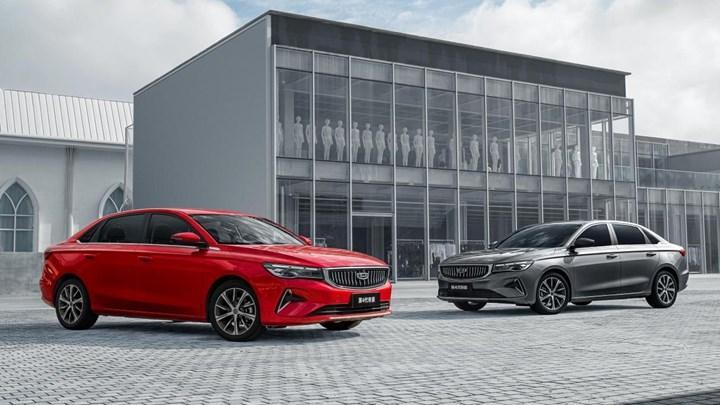 Çinli Geely'nin sedan modeli Emgrand yenilendi