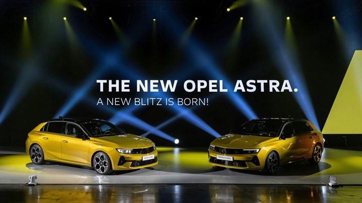 Yeni 2022 Opel Astra'nın yurt dışı fiyatı belli oldu