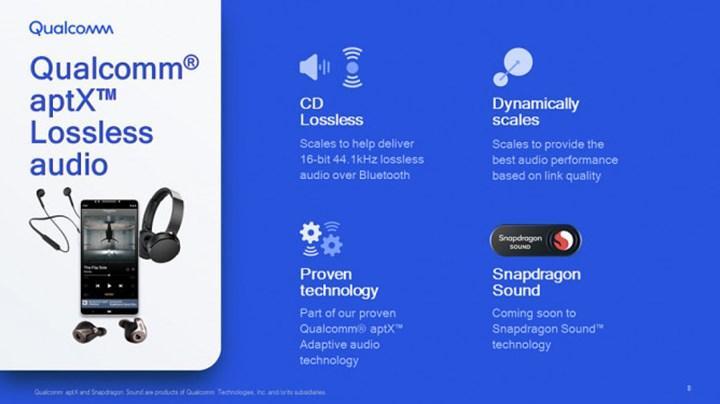 Qualcomm aptX Lossless ile Bluetooth üzerinden CD kalitesinde ses