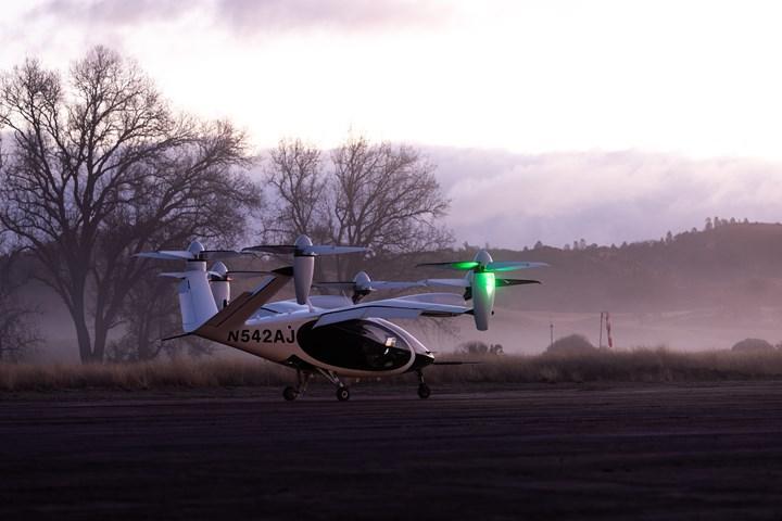 NASA, uçan taksi denemelerine başladı