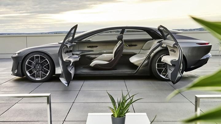 Audi Grandsphere konsepti tanıtıldı: İşte tasarımı ve özellikleri