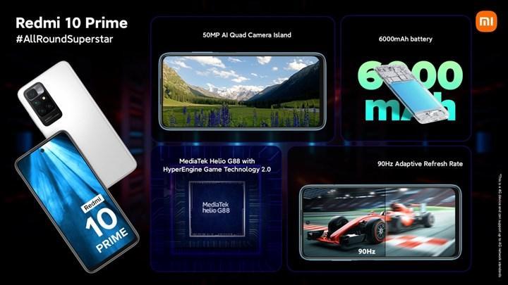 Redmi 10 Prime tanıtıldı