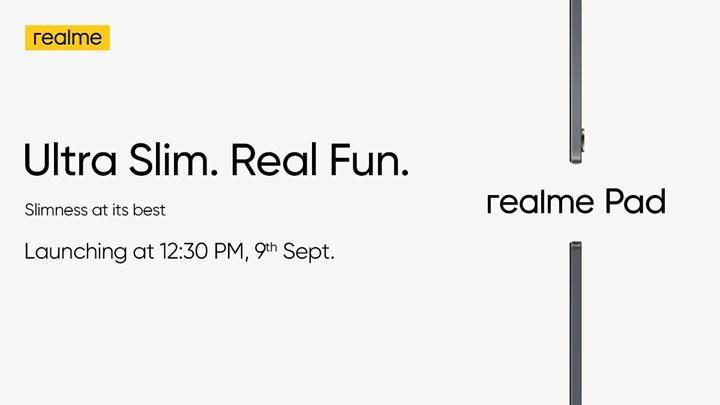 Realme Pad'in tanıtım tarihi belli oldu