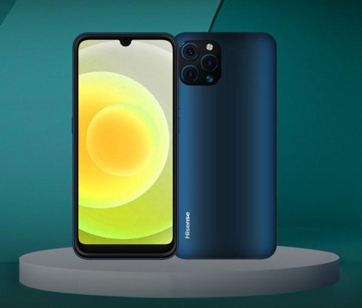 iPhone 12 benzeri bir tasarıma sahip HiSense U50 tanıtıldı
