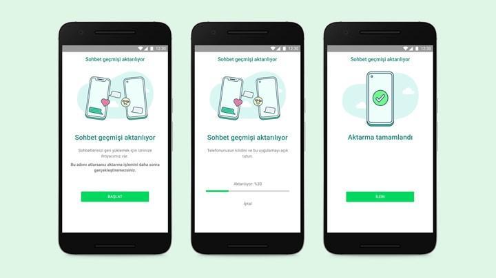 iPhone'dan Samsung'a WhatsApp yedeği nasıl taşınır?